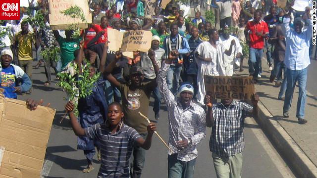 Nigeria youth agitation