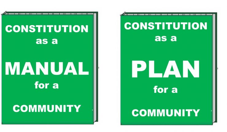 Nigerian constitution as a plan or manual