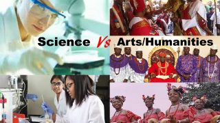 science and arts/humanities